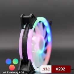 Fan Case VSP V202 12cm Led Double Rembourg